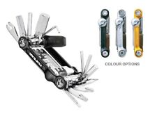 Topeak Mini 20 Pro Bike Cycle Bicycle Multi-Tool. 23 Functions. 3 Colour Options