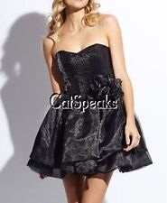 NWT BETSEY JOHNSON ORGANZA SEQUIN CORSAGE BUBBLE PARTY DRESS~12 **sale**