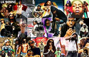 Lil Wayne Collage Poster