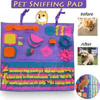 90x90cm Dog Pet Toy Snuffle Mat Puzzle Sniffing Nose Training Pad Washable Large