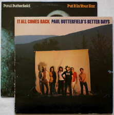 Paul Butterfield - 2 LP Lot - It All Comes Back - Put It In Your Ear