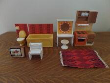 Vintage Lundby Furniture Lot