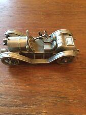 1913 Mercer 35J Danbury Mint Pewter ~ Classic Car Collection