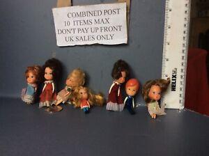 dolls house Vintage Dolls Mini Big Head + Liddle Kiddle .