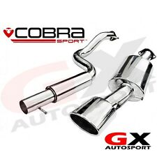 VW17 cobra sport vw golf MK4 gti 1J 1.8 turbo 98-04 cat back exhaust res