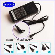 Laptop Ac Power Adapter Charger for Sony Vaio VPCEA43FX VPCEB11FM