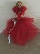 Vintage Happy Holidays Barbie By Mattel 1988 - Christmas