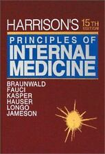 Harrison's Principles of Internal Medicine (Volume 1 ONLY of 2-Volume-ExLibrary