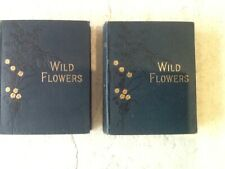 ANNE PRATT-WILD FLOWERS.VOLUMES 1 & 2- 1905-TOTAL OF 96 PLATES IN EACH BOOK- VGC