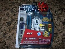 SEALED Star Wars Movie Heroes R2-D2 MH03 Action Figure Lights and Sounds droid