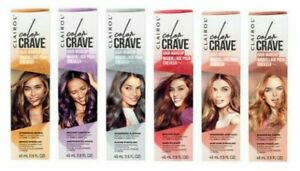 Clairol Color Crave Hair Make Up 45ml Washes Out With Shampoo 6 Shades Available