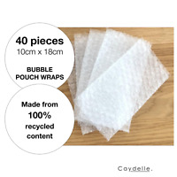 Bubble Cushioning Wrap Pouch x 40   Bubble Pouch   Mailer sleeves   by Caydelle