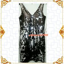 PRIMARK Stunning SILVER FULLY SEQUINNED LADIES Luxury BODYCONE Party dress BNWT6