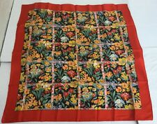 """New in package LIBERTY OF LONDON NWT 100% Silk 34"""" SCARF/Shawl - Rare Vintage"""