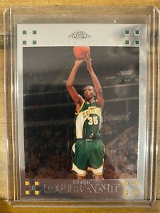 2007-08 Topps Chrome #131 Kevin Durant Supersonics RC Rookie PSA 9?
