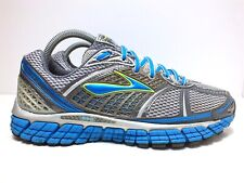 Brooks Trance 12 Women's Running Shoes Wht/Slvr/Blk/OmbrBlu/Nep/Sfoam Size 9 US