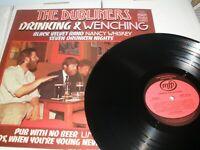 The Dubliners Drinking & Wenching Vinyl Album Music For Pleasure MFP 50245