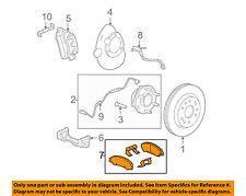GM OEM Brake-Front Pads 25910432