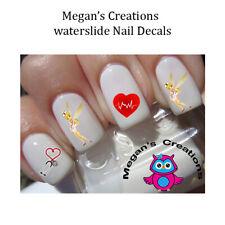 Nurse Tinkerbell Nail Art Decals