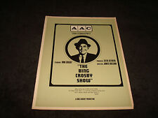 THE BING CROSBY SHOW 1964 Emmy ad 'Bing Crosby has a winner on his hands.'