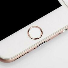 Touch ID Coloured Ring for Apple iPhone 6 7 Plus C - Rose Gold AND SILVER