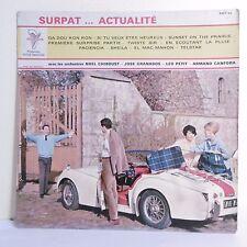 33T 25cm Orchestres CHIBOUST GRANADOS PETIT CANFORA Vinyle SURPAT . Auto Triumph