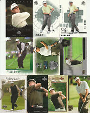 55 ROBERT ALLENBY GOLF CARD LOT UD SPA INSERTS 2001 - 2004