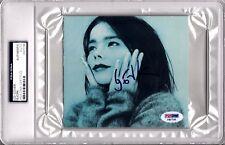 "BJORK Signed Autographed Slabbed CD Cover ""VENUS AS A BOY"" PSA/DNA #F87725"