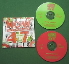 Now That's What I Call Music 47 Modjo Coldplay Kylie Darude Britney + 2 x CD