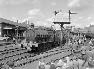 Walsall Webb Compound 0-8-0 49361 SLS 22.6.63 Railway Negative RN110