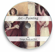255 Rare Books on DVD  -  Painting Art History Oil Water Colour Renaissance F6