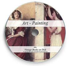 255 Rare Books on DVD  -  Painting Art History Oil Water Colour Renaissance F6