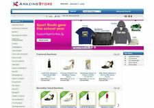 EBay Clone Auction Website (Blue) - Free Install + Hosting with SSL