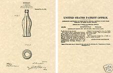 Us Vernice di Hobbleskirt Coca Cola Bottiglia Arte Stampa Pronto da Incorniciare
