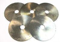 5X Metal Disco Sierra Circular HSS Ø125 X 2,0 X 0 ,8 X1,6 X2,5 Von Wmw Nuevo