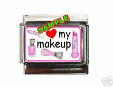 Love my Makeup #1 Custom Italian Charm cute w heart!