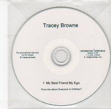 (DS991) Tracey Browne, My Best Friend My Ego - DJ CD