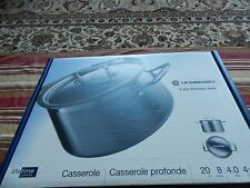 Le-Creuset 3-ply stainless steel shallow casserole 20cm 8inches 4.0litres 4 1/5