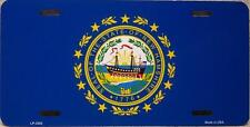 Aluminum License Plate US State New Hampshire flag NEW