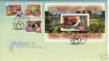1997 Nature of Australia FDC - Stamps (20c, 25c &  $1)& $10 Mini Sheet