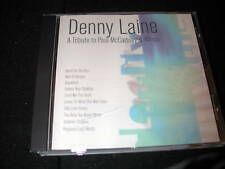 DENNY LAINE TRIBUTE TO PAUL McCARTNEY WINGS BEATLES CD SEALED SS RARE
