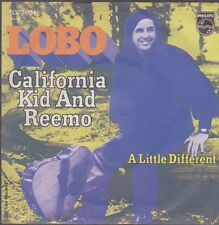 "7"" Lobo California Kid And Reemo / A Little Different 70`s Philips"
