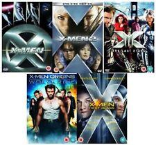 X MEN Complete Collection DVD Movie Part 1 2 3 4 5 1ST CLASS ORiGINS WOLVERINE