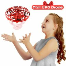 Mini Drone Hand Operated Helicopter Infrared Induction Aircraft Flying Ball Toys