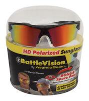 Battle Vision Telebrands/Bulbhead Hi-Tech HD Polarized Sunglasses Polymer 2