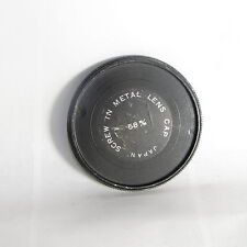 Vintage 58mm Screw-in Metal Lens Front Cap Made in Japan S118058
