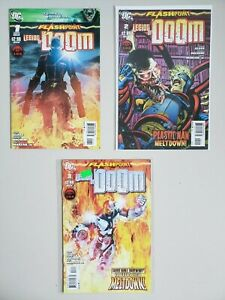 Flashpoint Legion Of Doom 1 2 3 New 52 DC 2011 Set Series Run Lot 1-3 VF/NM