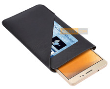 Etui Housse POUCH CASE Card Noir compatible MICROSOFT Lumia 950 XL