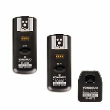 Yongnuo RF602 RF-602 2.4GHz Wireless Remote Flash Trigger 2 Receivers for Canon