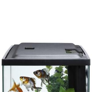 10 Gallon Aquarium Hood Fish Tank Top Lid With LED Light Integrated Cutouts NEW